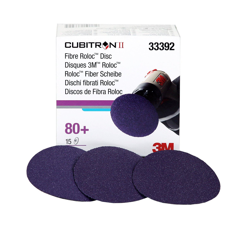 Cubitron 3M 33392 II 3'' Fibre Roloc Disc - 15 Discs/Box