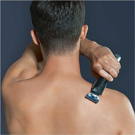 Braun BG 5030 - Afeitadora corporal para hombres, depiladora masculina con tres peines de recorte para diferentes longitudes, color plata y negro: Amazon.es: Salud y ...