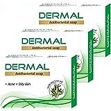 Biotrex Nutraceuticals Dermal Antibacterial Bath Soap 75 Grams - Combo Pack 3