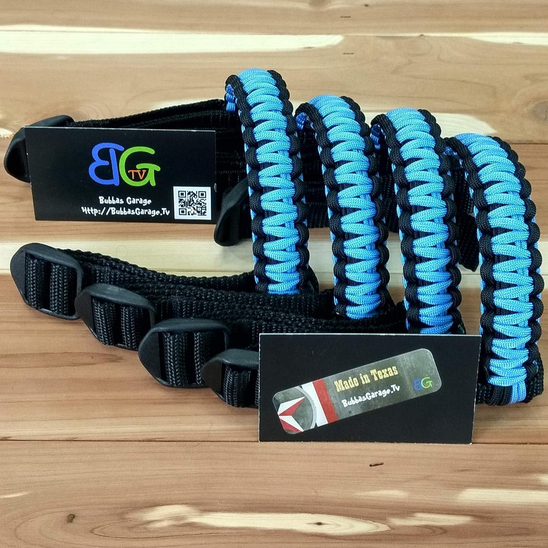 Reversible Paracord Jeep Wrangler Grab Handles Pick your pairs Black /& Light Blue