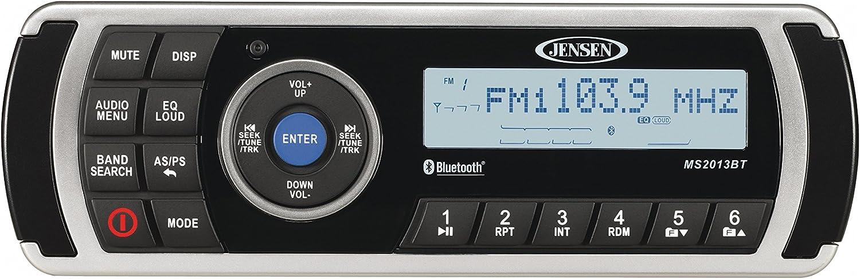 Jensen MS2013BTR AM//FM//USB Waterproof Stereo with Bluetooth