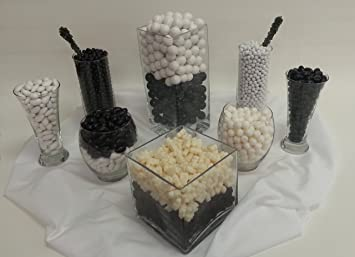 Stupendous Amazon Com Black And White Candy Buffet Kit Will Serve 85 Download Free Architecture Designs Parabritishbridgeorg