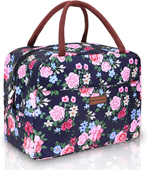 Ka Insulated Lunch Bag Leakproof Thermal Bento Cooler Tote For Women And Men,