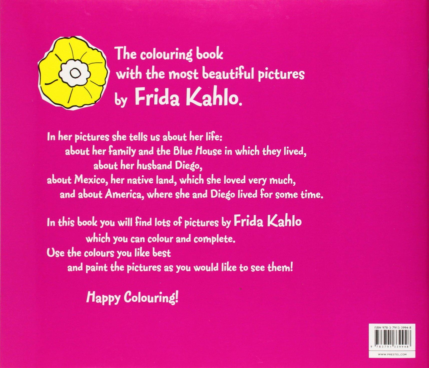 frida kahlo colouring books minis amazon co uk doris