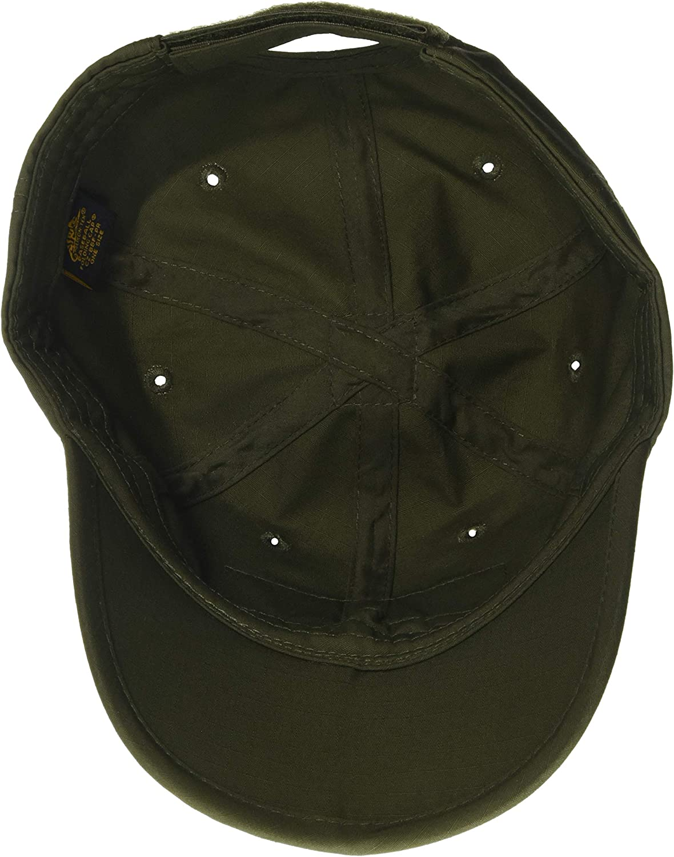 Helikon Tex Color Verde polialgod/ón, Talla /única Gorra de b/éisbol Plegable para Hombre