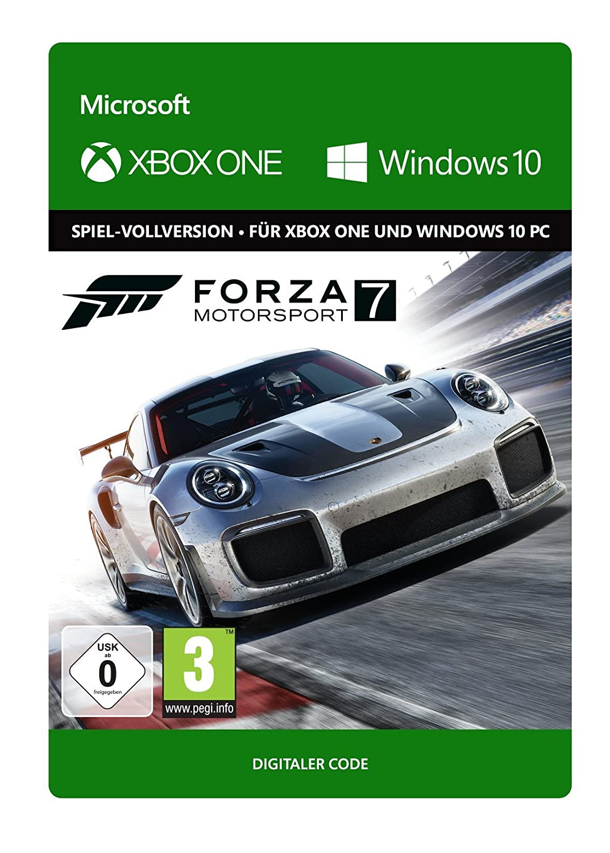 [amazon.de] Forza 7 Xbox One i Windows Download Code za 35,99€