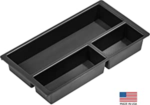 Vehicle OCD - Center Console Organizer Tray for Chevy Silverado/GMC Sierra 1500 (2014-18) and 2500/3500 HD (2015-19) / Chevy Suburban/Tahoe/GMC Yukon (2015-20) - Made in USA