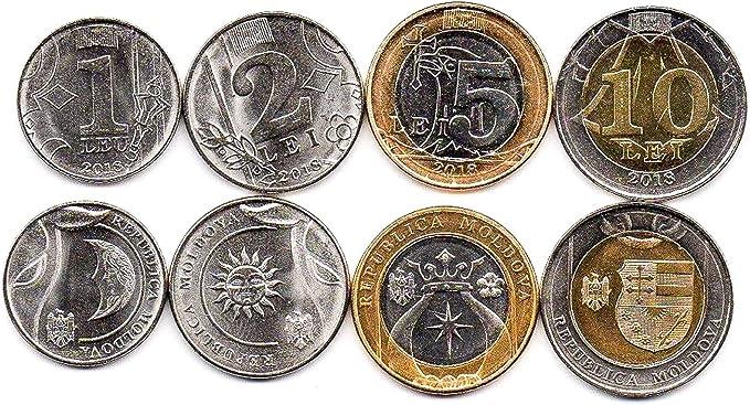 TURKEY LOT 10 PCS 1 KURUS 2015 UNC COINS x