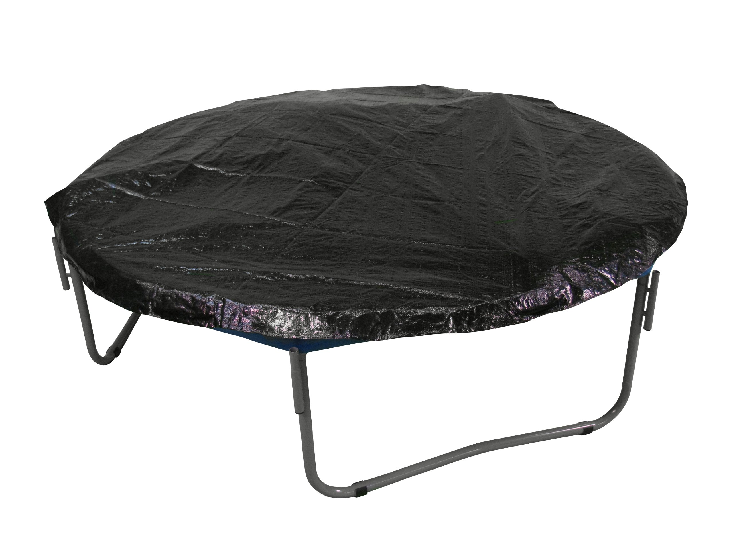 Upper Bounce Economy Trampoline Weather Protection Cover, Fits for Sports Power Model # TR-14COM-FLXTRU - Black