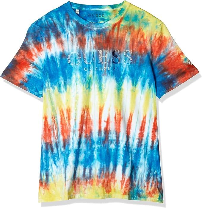 Guess - Camiseta M0GI77I3Z00 Multicolor - M0GI77I3Z00 - Multicolor, Medium: Amazon.es: Ropa y accesorios