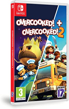 Pack: Overcooked! + Overcooked! 2: Amazon.es: Videojuegos
