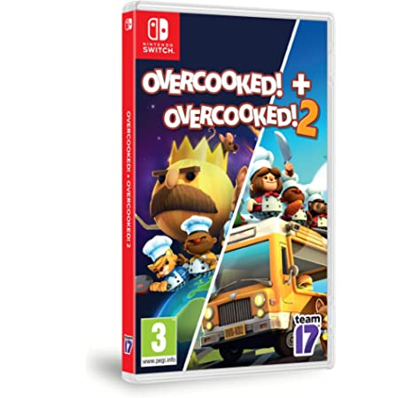 Overcooked 1 - Special Edition + Overcooked 2 - Double Pack NSW: Amazon.es: Videojuegos