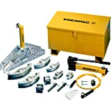"""Enerpac STB-221H Hydraulic Pipe Bender Set for 1"""" to 4"""" OD Pipe, Hydraulic Hand Pump"""