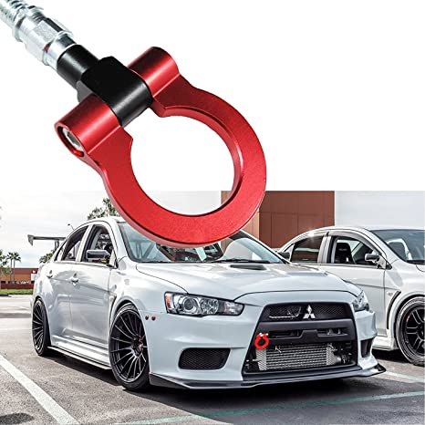 2016 Lancer Evolution >> Xotic Tech Jdm Sports Red Track Racing Style Cnc Aluminum Tow Hook For Mitsubishi 2008 2016 Lancer Evolution Evo X 10