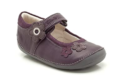 f915866fab3b Clarks Childrens Little Candy Purple Leather 2 UK  Amazon.co.uk ...