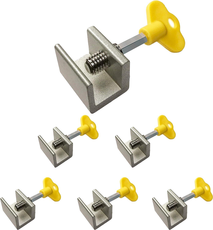 2PCS Top Quality Sliding Door /& Window Locks Aluminum Alloy Plastic Steel Window Limit Door Lock Children Safety Protection Lock dingchi