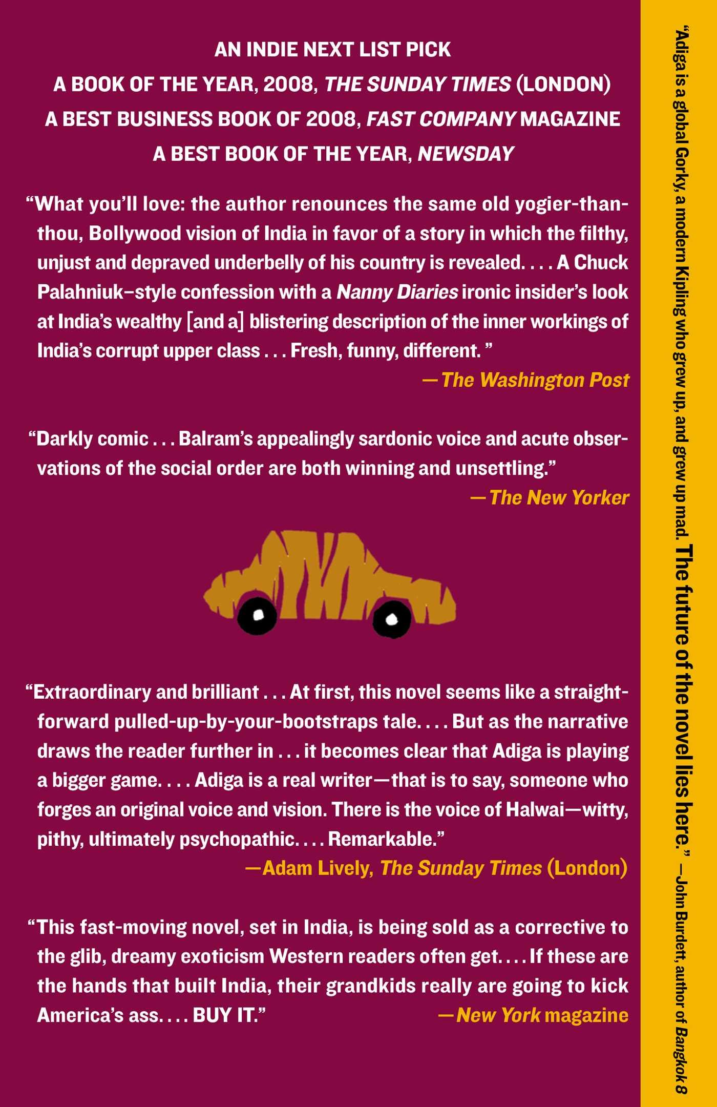 Amazon The White Tiger A Novel 9781416562603 Aravind Adiga