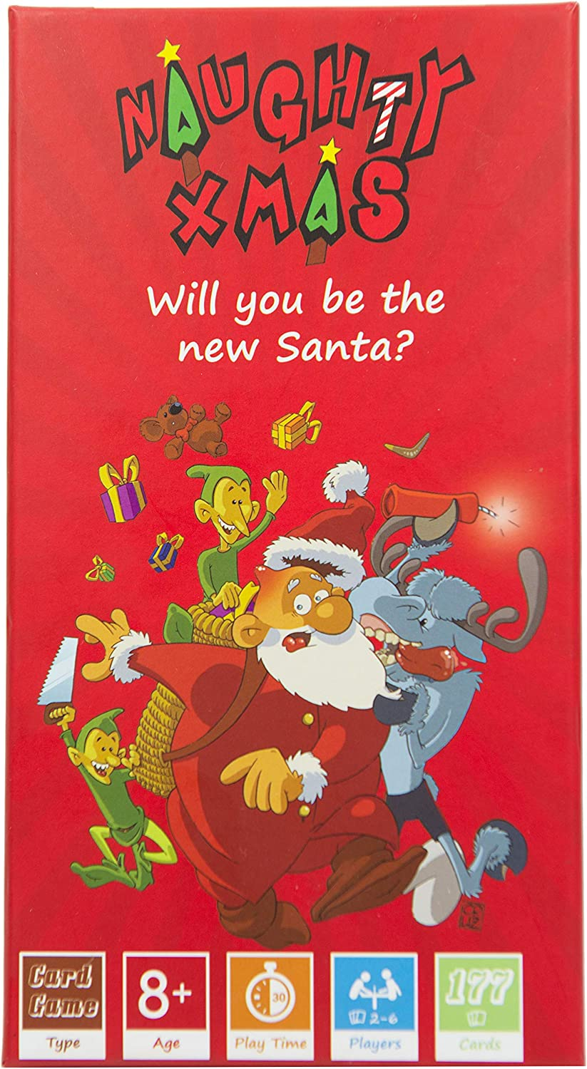 Amazon Com Naughty Xmas The Family Card Game Will You Be The