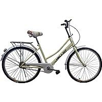 Helliot Bikes Paseo01 Bicicleta de Ciudad, Unisex Adulto, Vainilla, Estándar