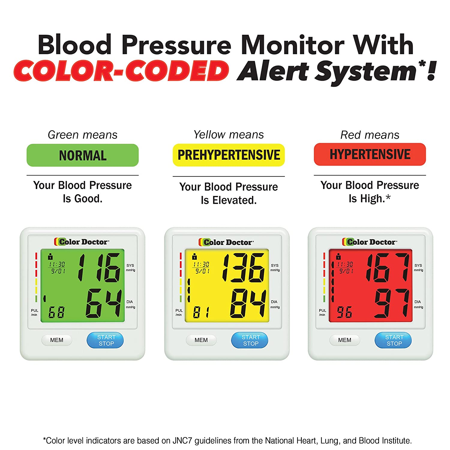 Amazon color doctor blood pressure monitor by bulbhead check amazon color doctor blood pressure monitor by bulbhead check blood pressure wrist blood pressure monitor health personal care nvjuhfo Image collections