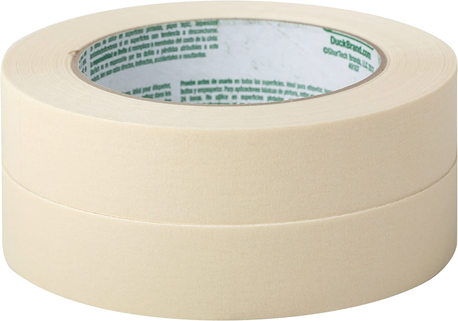 Duck Brand 286655 General Purpose Masking Tape 0.94 Inches by 60 Yards 36 Rolls per Pack Beige
