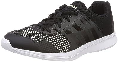 adidas Essential Fun II W, Chaussures de Gymnastique Femme, Noir (Core Black/Chalk White/Carbon S18 Core Black/Chalk White/Carbon S18), 40 EU