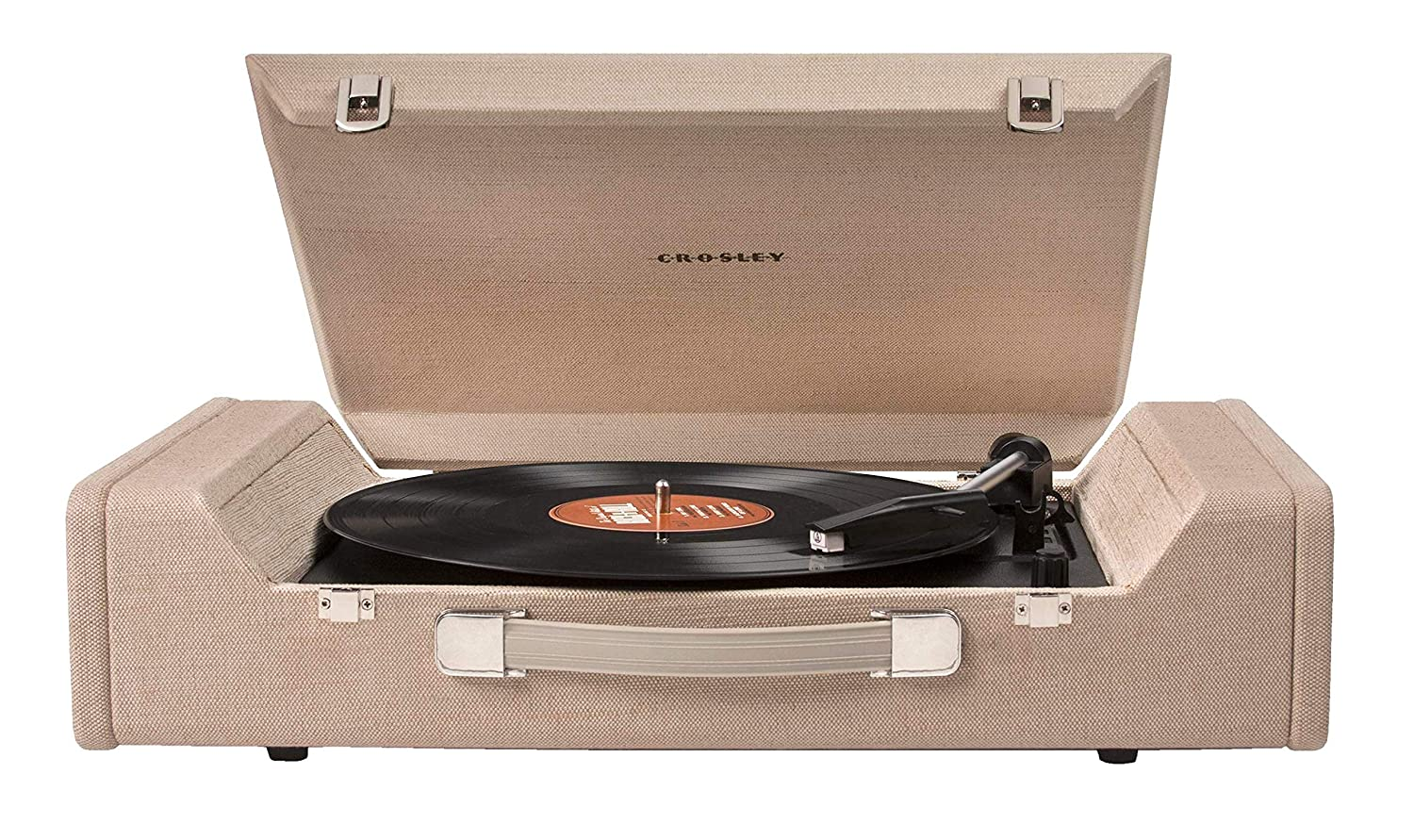 Crosley Nomad Portable USB Turntable with Software for Ripping & Editing Audio, Brown
