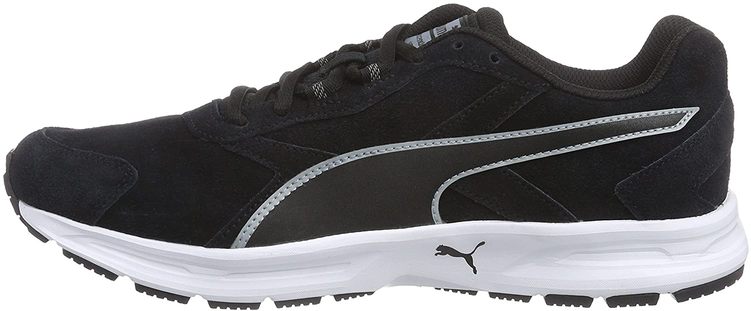 puma shoes suede black. puma men\u0027s descendant v3 suede running shoes: buy online at low prices in india - amazon.in shoes black