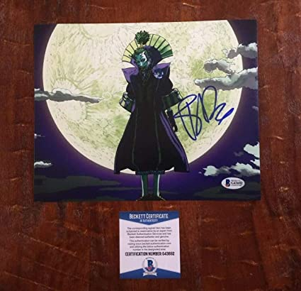 Batman Ninja The Joker Tony Hale Autographed Signed ...