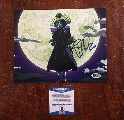 Batman Ninja The Joker Tony Hale Autographed Signed ...
