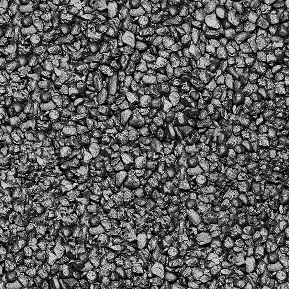 Safe & Non-Toxic (Small Size, 0.3'' Inch) 25 Pound Bag of Acrylic Coated Gravel & Pebbles Decor for Freshwater & Saltwater Aquarium w/Subtle Charcoal Texture Modern Contrast Style [Black]