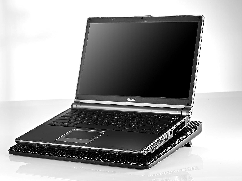 Cooler Master R9-NBC-300LR-GP - Base de refrigeración para ordenador portátil (USB, 1.9 W, LED rojo), negro: Amazon.es: Informática