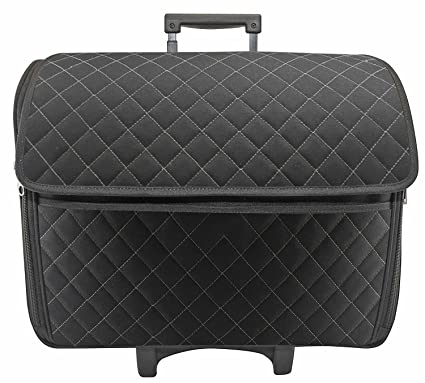 Amazon Black Quilted Rolling Sewing Machine Tote Sewing Best Sewing Machine Case