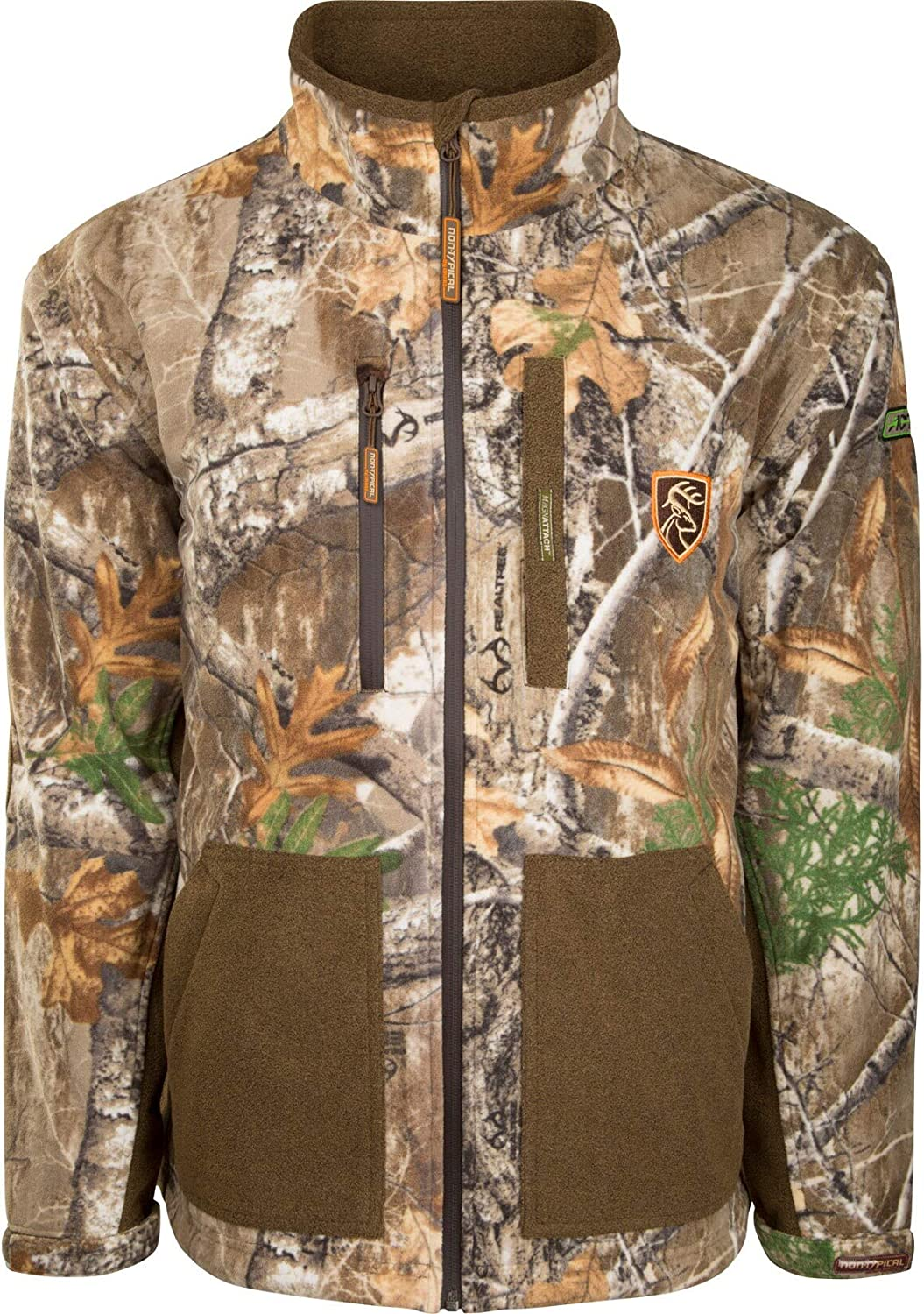Drake Non-Typical Mens Hydro-Hush Full Zip Waterproof Insulated Scent.