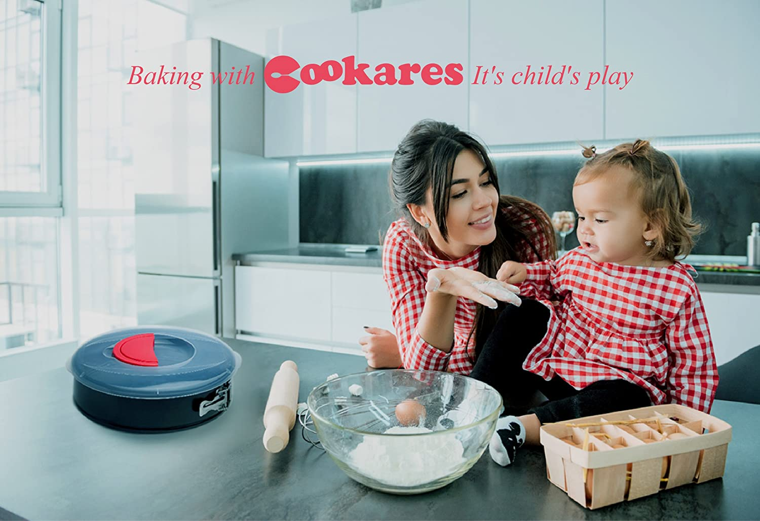 Free Bonuses Silicone Spatula /& Recipe eBook cookers Springform Pan 10 Inch NonStick 10 springform pan with lid Premium Cheesecake pan carrier with Cover Lid Quick Release Removable Bottom