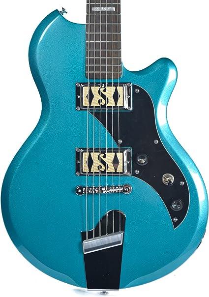 Supro 2020tm isla serie Westbury – Guitarra eléctrica, color ...