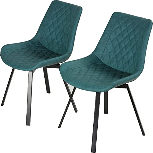 Cortesi Home Azov Swivel Dining Chair