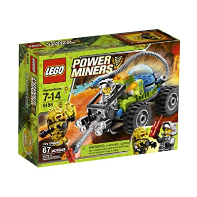 LEGO Power Miners Fire Blaster (8188): Toys & Games