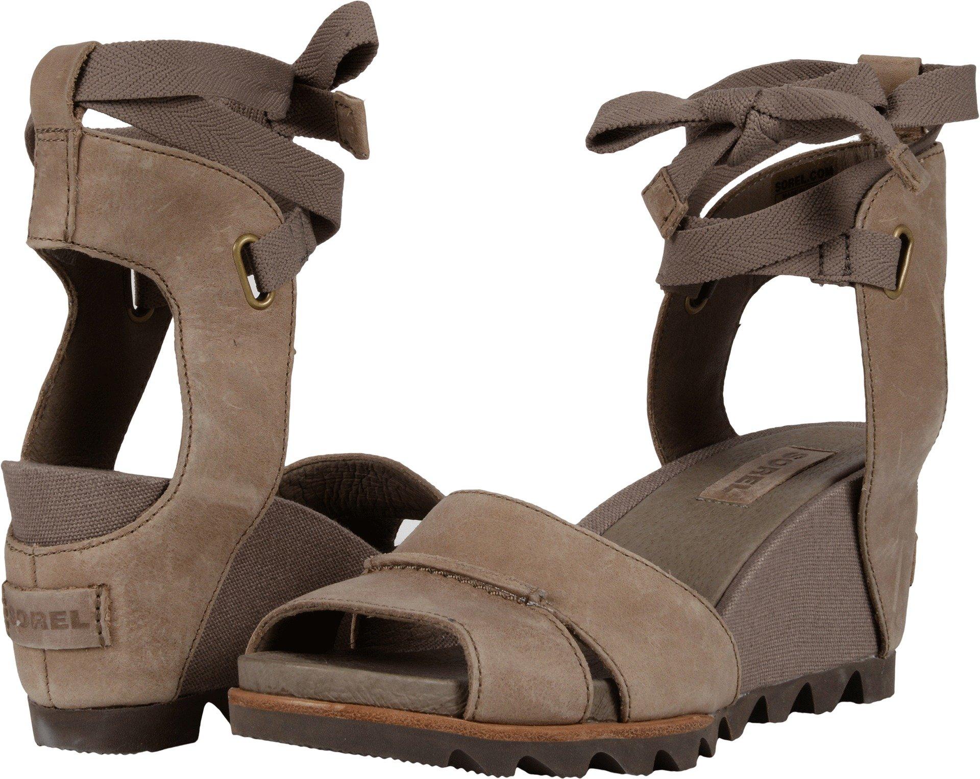 SOREL Womens Joanie Wrap Sandal Sahara Size 9.5