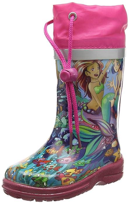 03b9deba6add5f Beck Mädchen Meerjungfrau Gummistiefel  Beck  Amazon.de  Schuhe ...