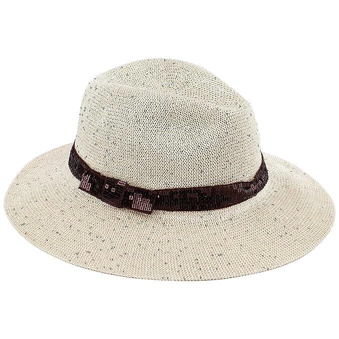 061faac484cf5 AccessHeadwear Old Stone Marta Ladies Fedora Style Hat