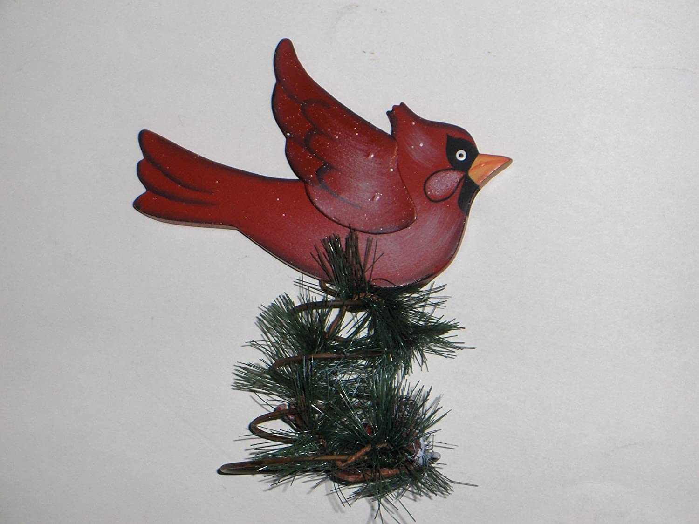 Amazon Com Cardinal Tree Topper Home Kitchen