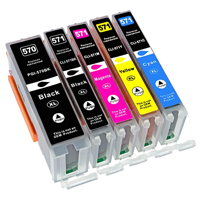 5 compatibles. XL Cartuchos de Impresora para Canon Pixma ts5050 ...