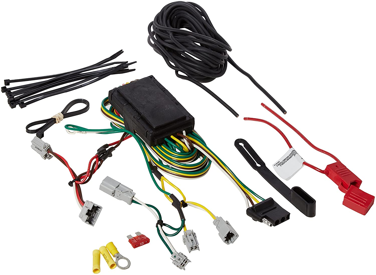 Curt Manufacturing 56341 Custom Wiring Harness 85off Wire