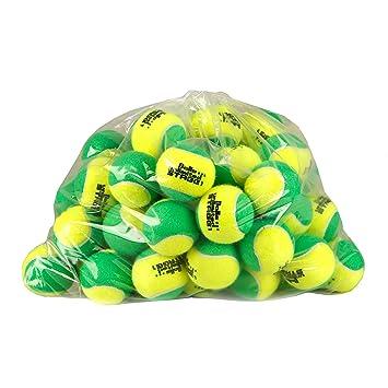 Balls Unlimited Pelotas De Tenis Stage 1 Grün - Beutel Bolsa De 60: Amazon.es: Deportes y aire libre