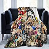 RuPaul's Drag Race Gifts for Women Throw Blankets Baby Warm ,for Sofa, Bed,Living Room, Durable Home Decor Flannel Blanket fo