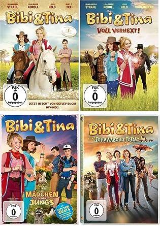 Bibi Tina Kinofilme 1 4 1 2 Voll Verhext 3 Mädchen Gegen Jungs