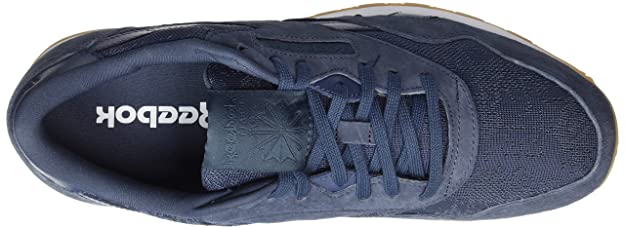 07b8b8e761b Reebok Men s Classic Nylon Hs Gymnastics Shoes Blue (Smoky  Indigo White-Gum) 6.5 UK  Buy Online at Low Prices in India - Amazon.in