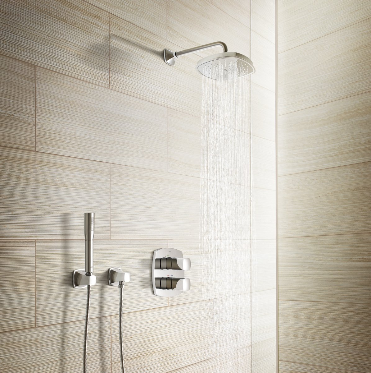 GROHE 27969000 Grandera Hand Shower Wall Holder