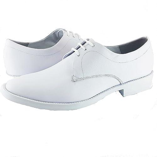 Zapatos blancos para hombre 0NTHZB